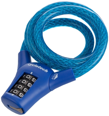 Замок кодовый Cyclotech 10мм/90мм Code lock CLK-3B blue