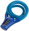 Замок кодовый Cyclotech 10мм/90мм Code lock CLK-3B blue - фото 1