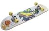 Скейтборд Reaction Skateboard RSKB31596 белый/желтый - фото 1