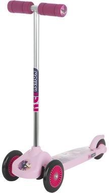 Самокат трехколесный Reaction 3-wheels steel scooter 3W-BEG8V розовый/сиреневый