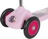 Самокат трехколесный Reaction 3-wheels steel scooter 3W-BEG8V розовый/сиреневый - фото 5