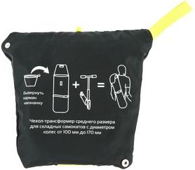 Фото 5 к товару Сумка для самоката Reaction Bag to carry scooters RSCB1-69G черный/зеленый