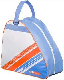 Фото 1 к товару Сумка для роликов Reaction Bag to carry inline skates белый/синий/оранжевый