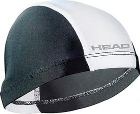 Шапочка для плавания Head Spandex Lycra JR Cap бело-черная