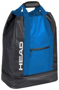 Сумка Head Team Duffle 44 черно-синяя