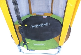 Фото 2 к товару Батут с защитной сеткой Kidigo 140 см