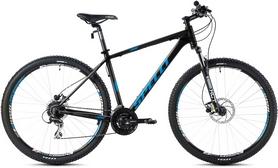 """Велосипед горный Spelli SX-5000 2016 29ER"""" черно-голубой матовый, рама - 21"""""""