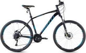 """Велосипед горный Spelli SX-5700 2016 29ER"""" черно-голубой матовый, рама - 19"""""""