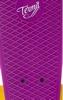 Пенни борд Termit CRUISE16P6 фиолетовый/желтый - фото 6