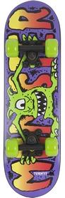 Фото 1 к товару Скейтборд детский Termit Kids' skateboard TSKB116ZY синий/желтый