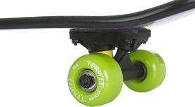 Фото 4 к товару Скейтборд детский Termit Kids' skateboard TSKB116ZY синий/желтый