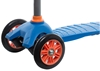 Самокат трехколесный Reaction 3-wheels steel scooter S15-3WZD синий - фото 3