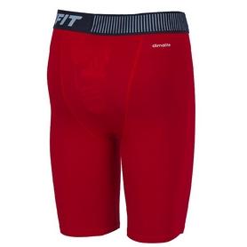 Фото 2 к товару Шорты компрессионные Adidas TF Base ST 9 красные