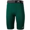 Шорты компрессионные Adidas TF Base ST 9 зеленые - фото 1