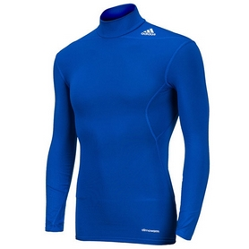 Фото 1 к товару Футболка компрессионная Adidas TF Base W MOC синяя
