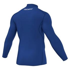 Фото 2 к товару Футболка компрессионная Adidas TF Base W MOC синяя