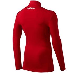 Фото 2 к товару Футболка компрессионная Adidas TF Base W MOC красная