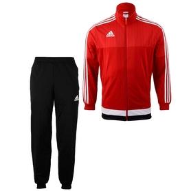 Костюм спортивный Adidas Tiro 15 Pes Suit  красный