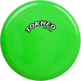 Тарелка летающая фрисби Torneo 25 см зеленая