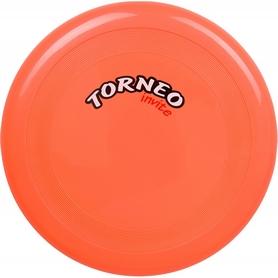 Тарелка летающая фрисби Torneo 23 см оранжевая