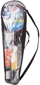 Набор для бадминтона (2 ракетки, 2 волана, сетка, чехол) Torneo RS-2100