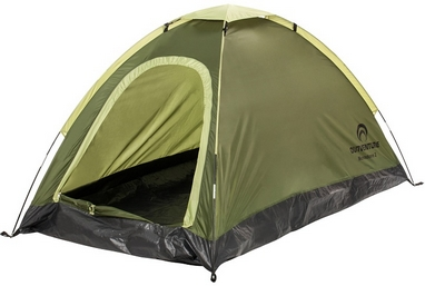 Палатка двухместная Outventure Monodome 2 KE143G4 болотная