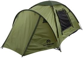 Палатка трехместная Outventure KE147G4 оливковая
