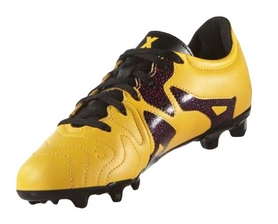 Фото 4 к товару Бутсы футбольные детские Adidas X 15.3 FG/AG J Leather S32061