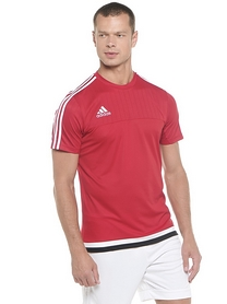 Фото 2 к товару Футболка Adidas Tiro 15 TRG JS M64061 красная