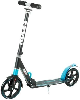 Самокат Roces Scooter Folding черно-голубой