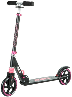 Самокат Roces Scooter Folding серо-розовый