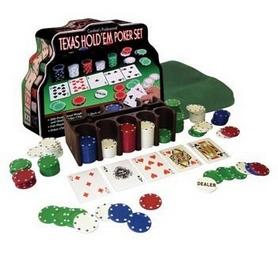Фото 2 к товару Набор для игры в покер в металлической коробке 200 фишек IG-1103240