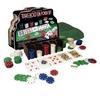 Набор для игры в покер в металлической коробке 200 фишек IG-1103240 - фото 2
