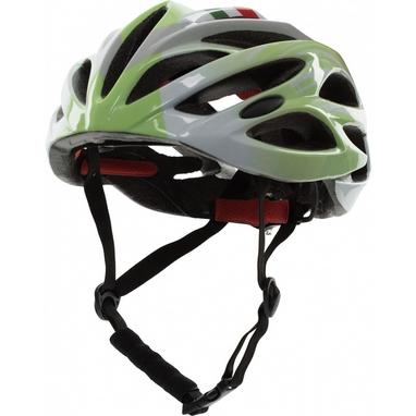 Шлем Roces License Adult Helmet бело-салатовый