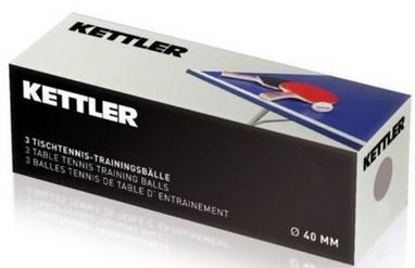 Набор мячей для настольного тенниса Kettler Outdoor 7222-500 (3 шт)