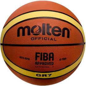 Мяч баскетбольный резиновый Molten BGR7 №7