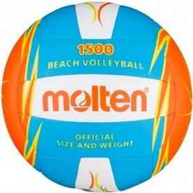 Фото 1 к товару Мяч волейбольный пляжный Molten V5B1500-CO