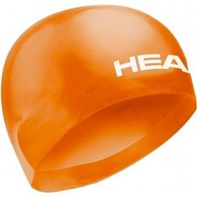 Фото 1 к товару Шапочка для плавания Head 3D Racing L оранжевая