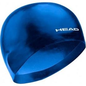 Шапочка для плавания Head 3D Racing L темно-синяя