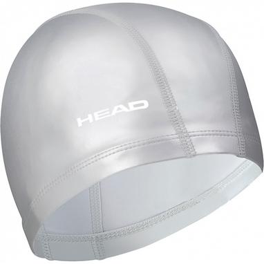 Шапочка для плавания Head Lycra PU серая
