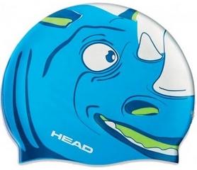 Шапочка для плавания детская Head Meteor Capсине-белая