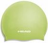 Шапочка для плавания Head Silicone Flat JR зеленая - фото 1