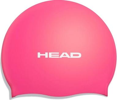 Шапочка для плавания Head Silicone Flat single color pearl pink