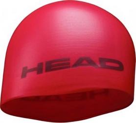 Фото 1 к товару Шапочка для плавания Head Silicone Moulded MID малиновая