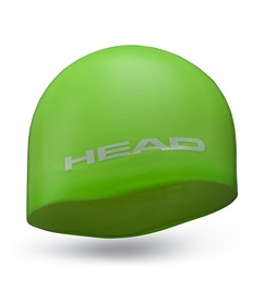 Фото 1 к товару Шапочка для плавания Head Silicone Moulded зеленая