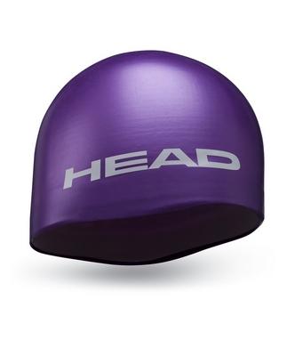 Шапочка для плавания Head Silicone Moulded фиолетовая
