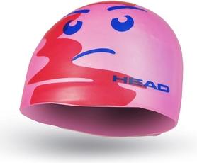 Фото 1 к товару Шапочка для плавания детская Head Silicone Sketch Fish розовая