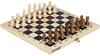 Набор настольных игр 2 в 1 (шахматы и шашки деревянные) Torneo TRN-SH1 - фото 1