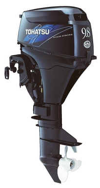 Мотор лодочный четырехтактный Tohatsu MFS9.8A3 EPL