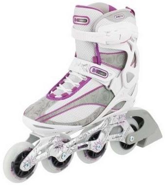 Коньки роликовые женские Reaction Women's Inline Skates R206W-0P белые